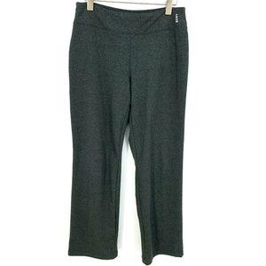 Lands End Sport Gray Athletic Wear Yoga Pants